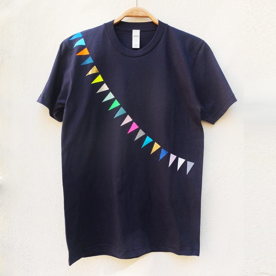 Image of T-Shirt Garland navy ADULTS