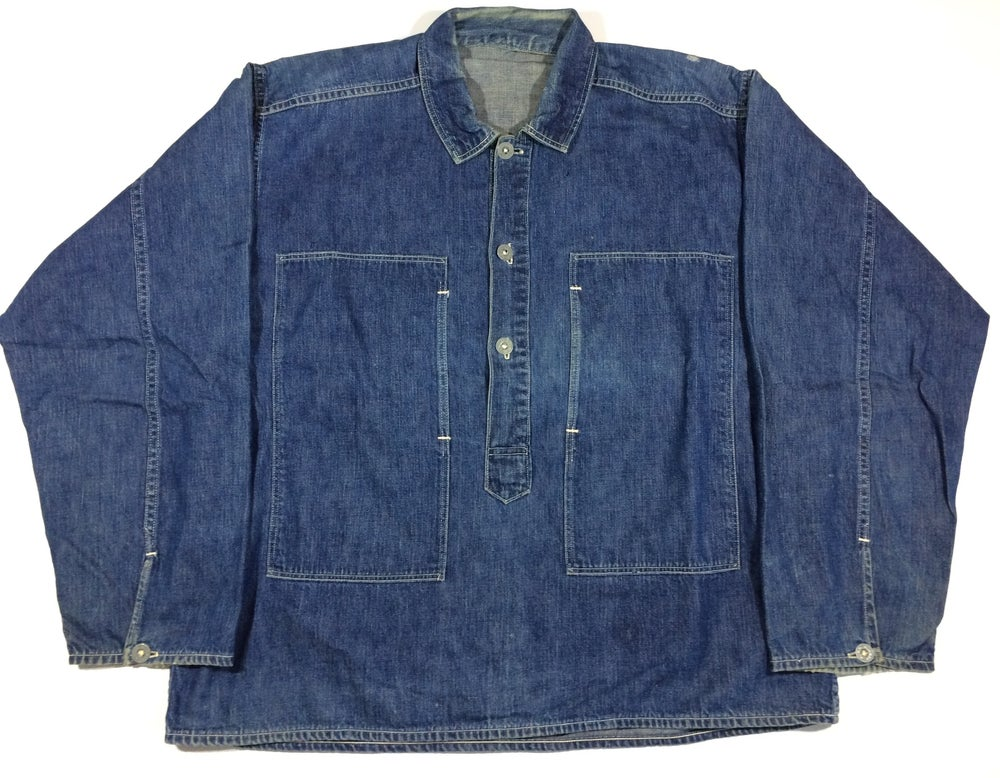 Image of CCC U.S. ARMY PULLOVER DENIM SHIRT