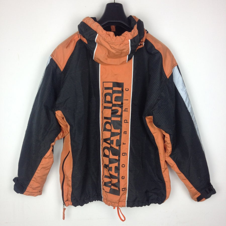 Image of NAPAPIJRI BLACK/ORANGE JACKET XL