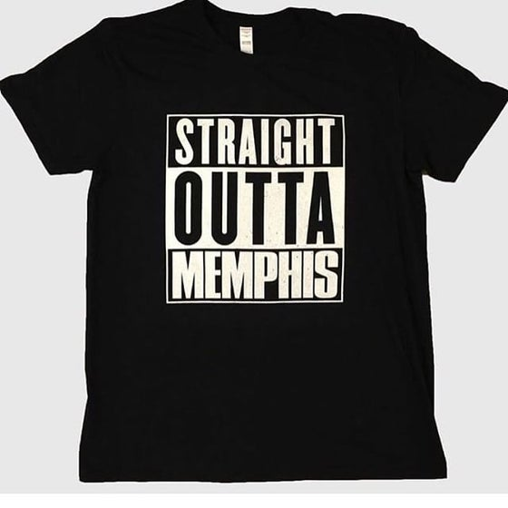 Image of Straight Outta Memphis tee