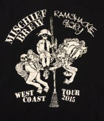 Image of Mischief Brew / Ramshackle Glory - West Coast Tour Shirt - (EXTRA SMALL ONLY)