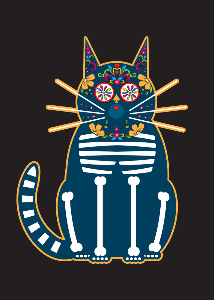 Marcartshop Day Of The Dead Cats