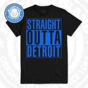 Image of Straight Outta Detroit - black - royal