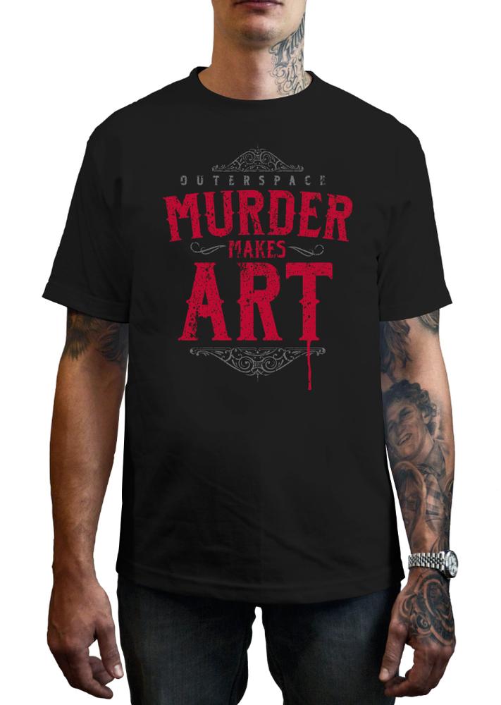 Image of Murder Makes Art - T-Shirt