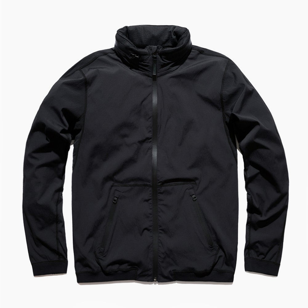 Image of Reigning Champ Stow Away Hood Jacket - BLACK