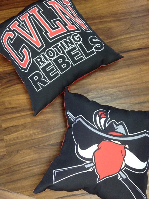 Image of Rioting Rebel pillow.