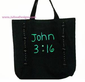 Image of John 3:16 Tote Bag