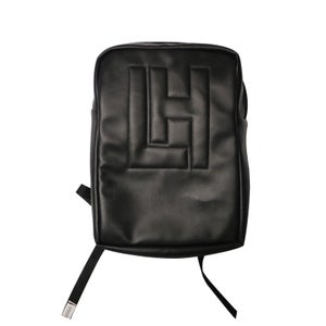 Image of LH Embossed BackPack (Black)