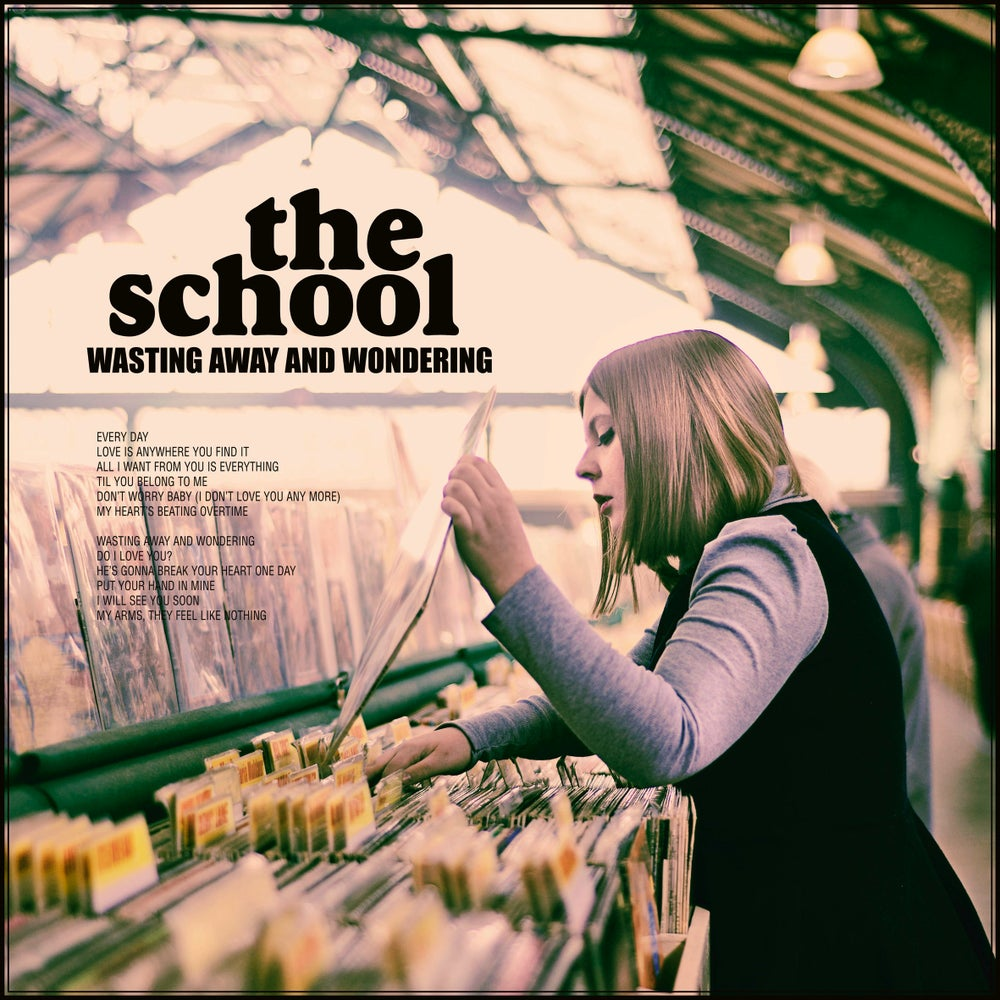 """Image of THE SCHOOL - Wasting Away and Wondering (Limited edition 12"""" LP + CD Digipak"""