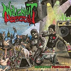 Image of MALIGNANT DEFECATION Defecation Propaganda CD/TS