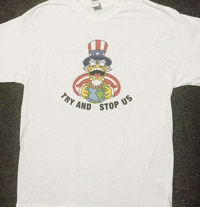 """Image of Rubikon """"Try and Stop Us"""" T Shirt"""