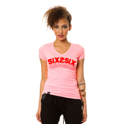 Image of SIX2SIX Womens (PINK AND  RED)