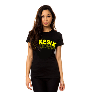 Image of SIX2SIX Womens (BLACK AND GOLD)