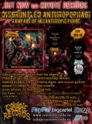 Image of DISGRUNTLED ANTROPOPHAGI Rampage Of Misanthropic Purge CD/TS