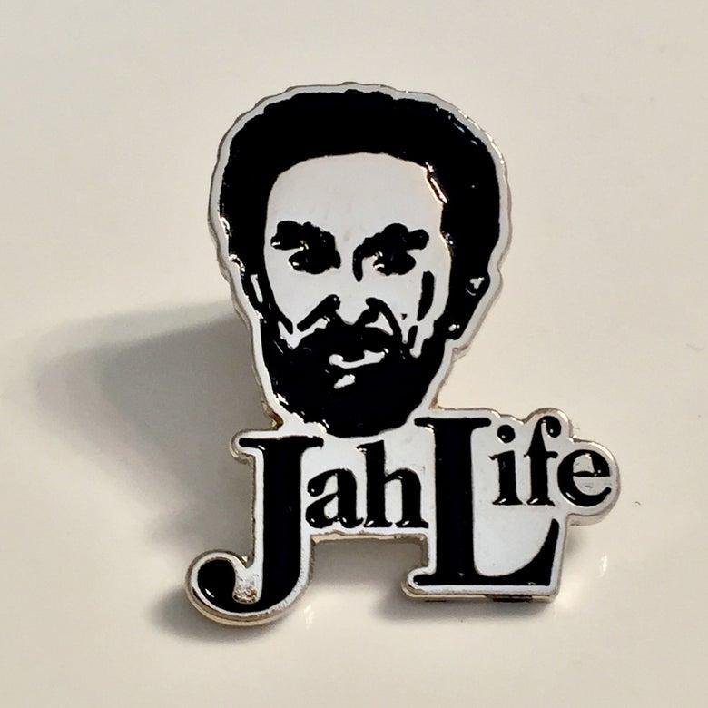 Image of Jah Life enamel pin