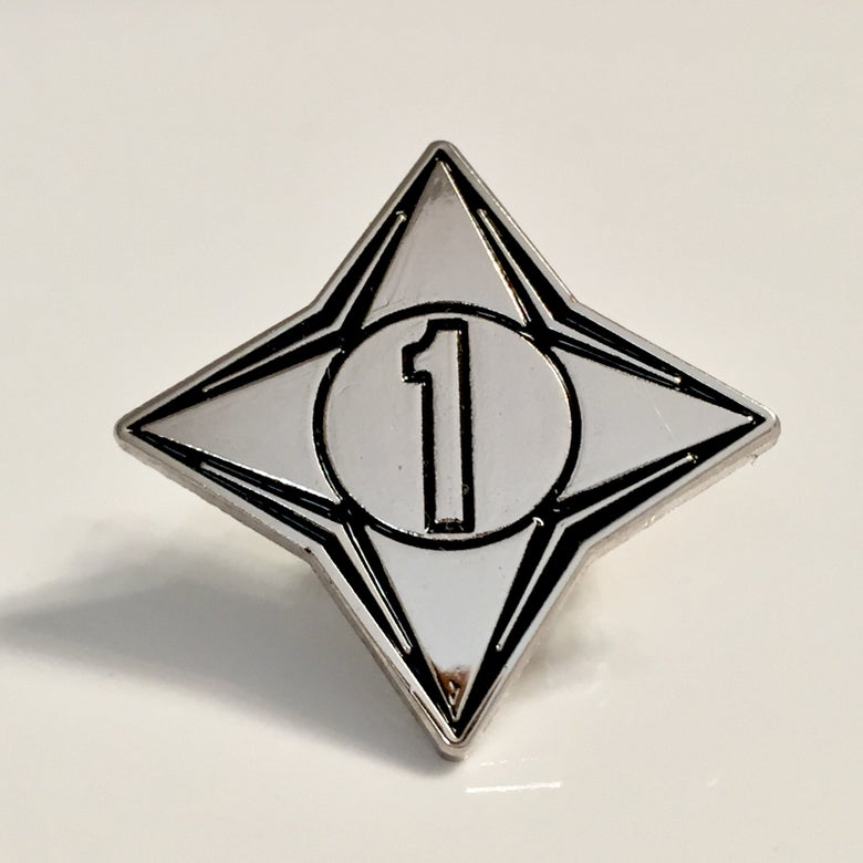 Image of Channel 1 enamel pin