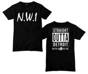 Image of N.W.I - Straight Outta Detroit T-shirt