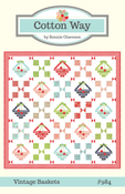 Image of Vintage Baskets Paper Pattern #984