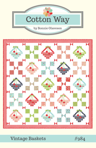 Image of Vintage Baskets PDF Pattern #984