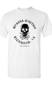 "Image of ""Rivanna Junction"" T-Shirt / WHITE"
