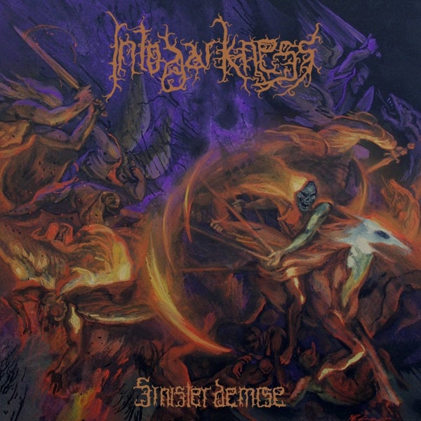 Image of INTO DARKNESS - Sinister Demise CD / DigiPack CD