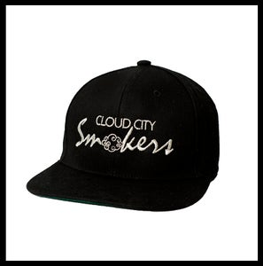 Image of Cloud City Smokers Snapback ( Sliver )