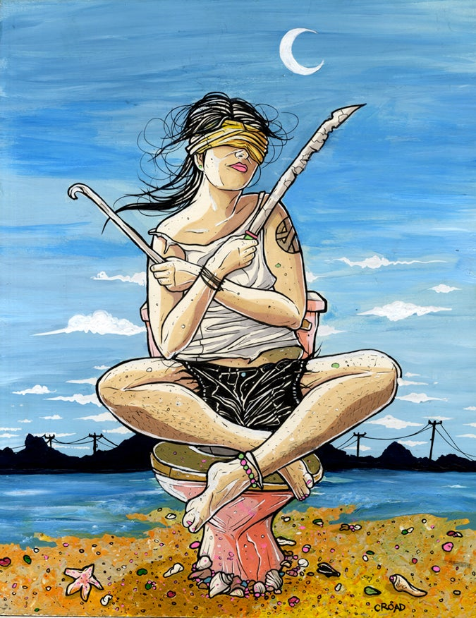Image of NEXT WORLD TAROT: 2 of Swords