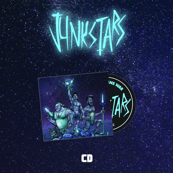 Image of JUNKSTARS - This Means War [CD]