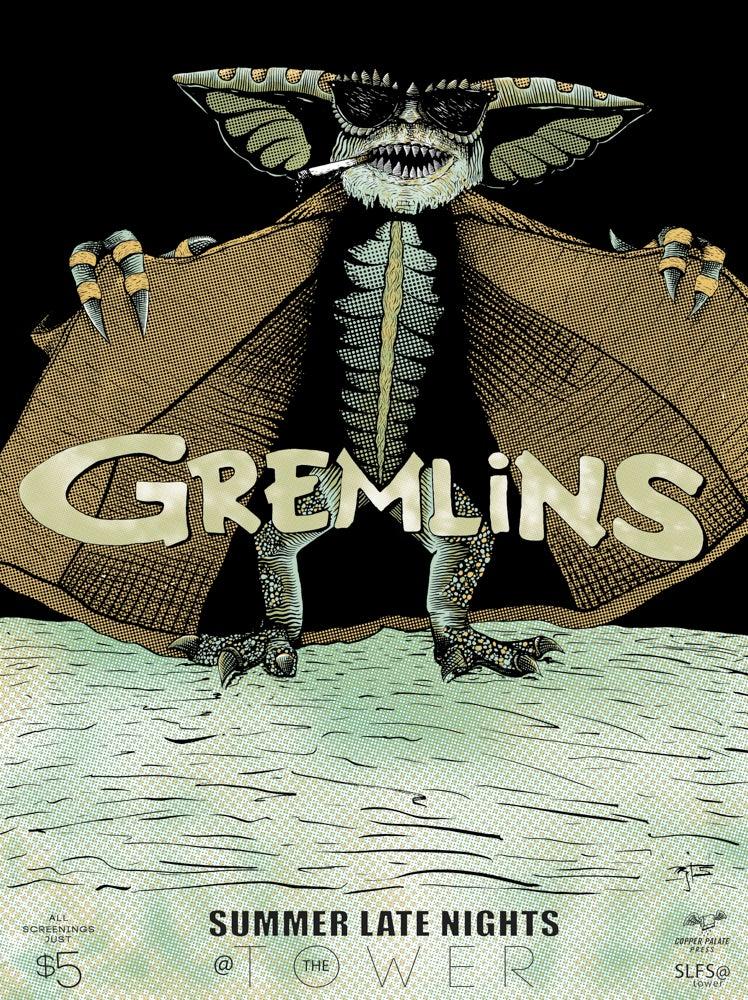 Image of Gremlins Movie Poster