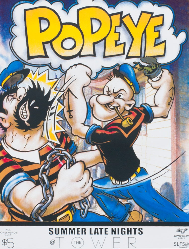 Image of Popeye Movie Poster
