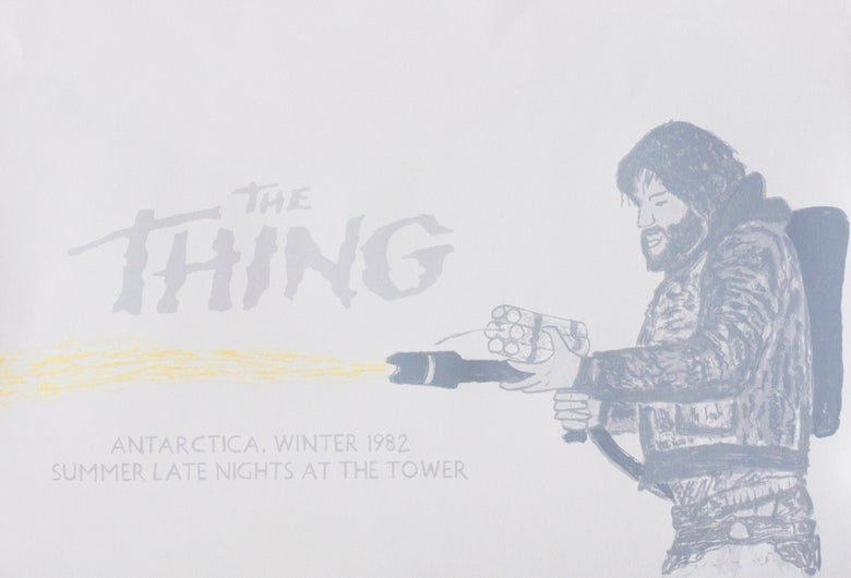 Image of The Thing (1982) Movie Poster