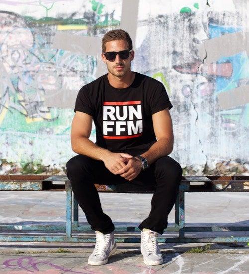 Image of RUN FFM CLASSIC EDITION - T-Shirt - schwarz