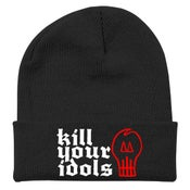 Image of KILL YOUR IDOLS Embroidered Winter Hat