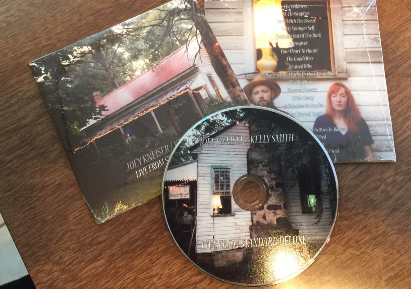 Image of Joey Kneiser / Kelly Smith (Glossary) Live From Standard Deluxe {Compact Disc}