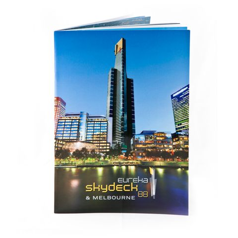 Image of Eureka Skydeck & Melbourne Souvenir Book inc.gst