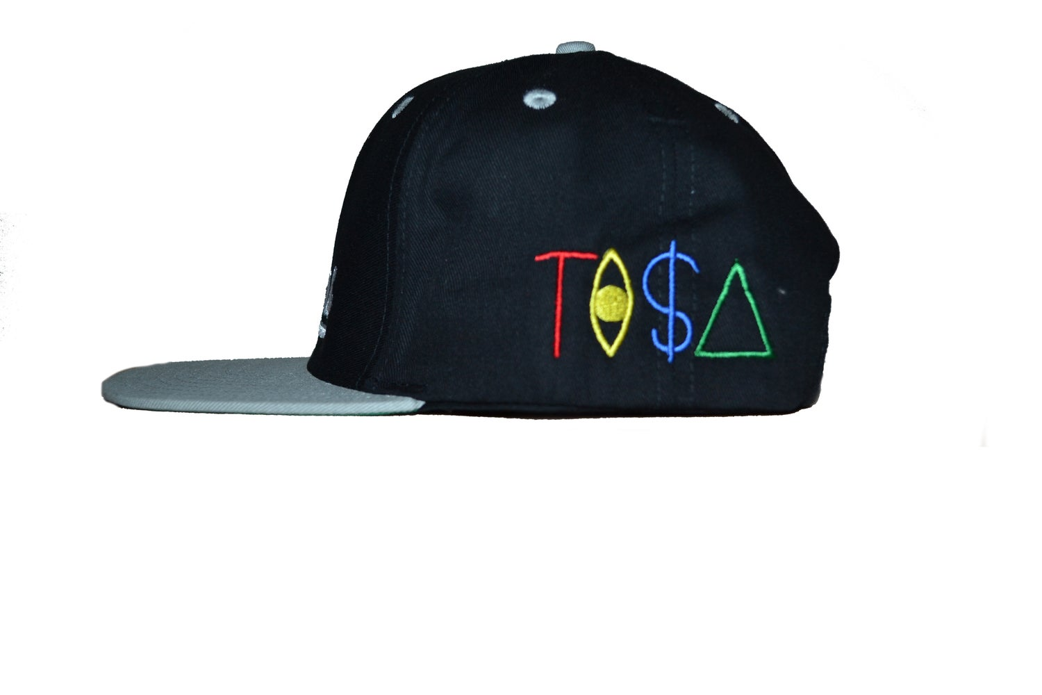 Image of TI$A RAIDERS CAP BLACK/GREY