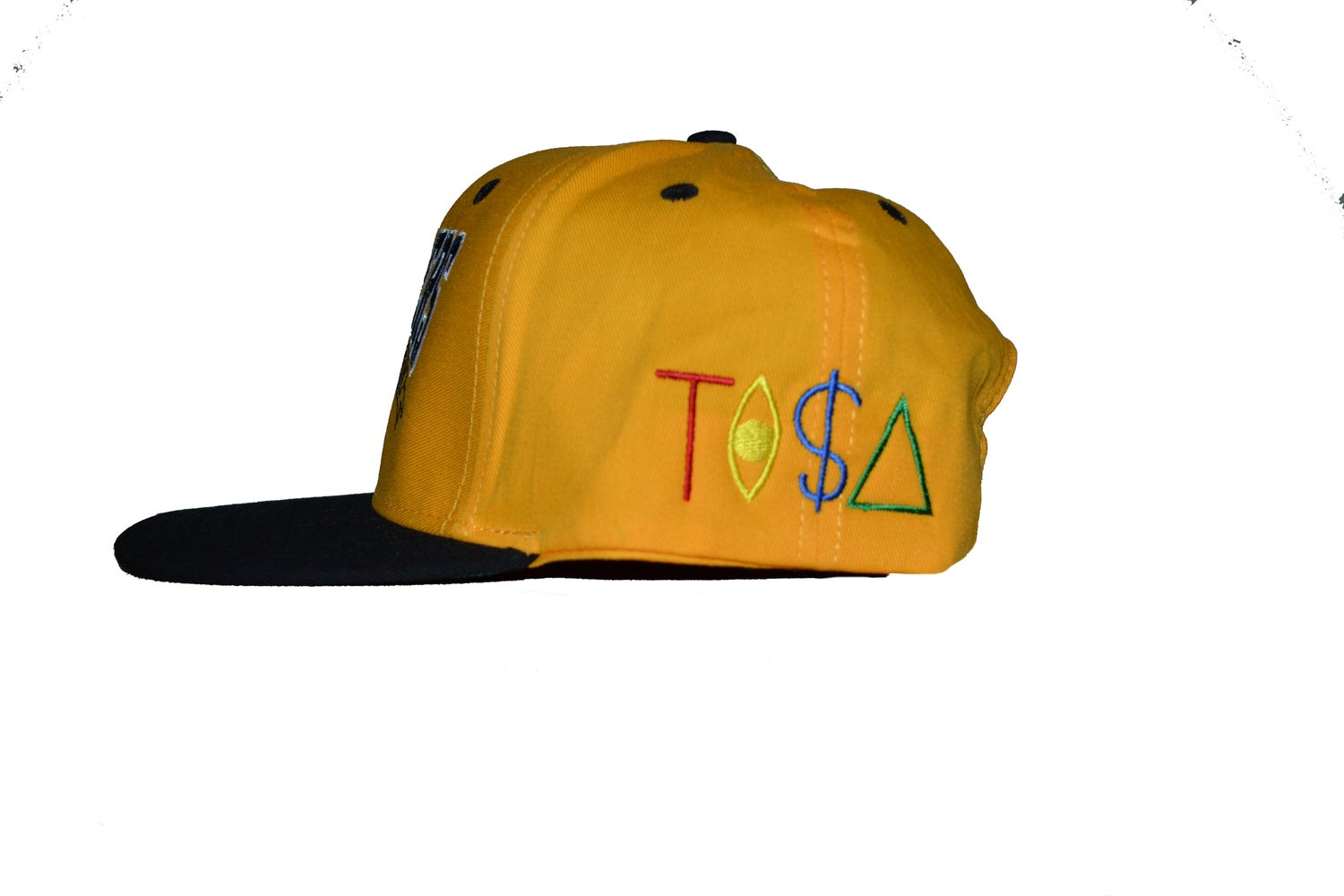 Image of TI$A LAKERS CAP YELLOW