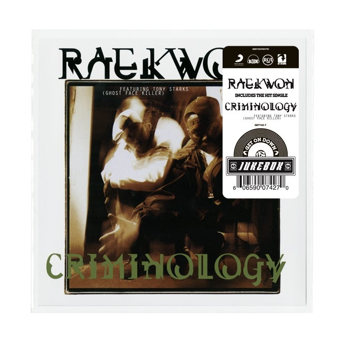 Image of RAEKWON-CRIMINOLOGY B/W GLACIERS OF ICE