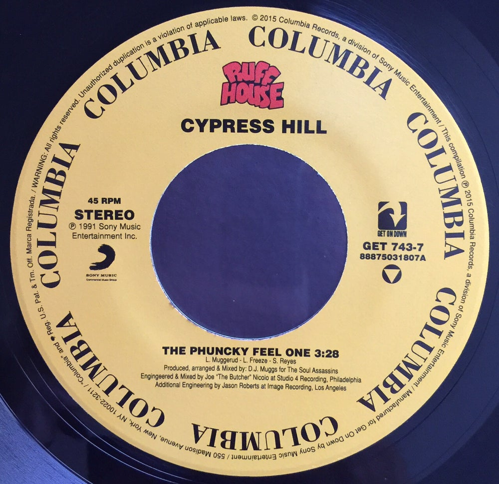 Image of CYPRESS HILL-THE PHUNKY FEEL ONE/HOW I COULD JUST KILL A MAN (THE KILLER REMIX)