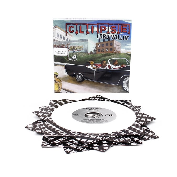 """Image of CLIPSE-LORD WILLIN'-THE 7"""" BOX SET"""
