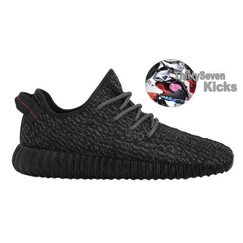 Image of Adidas Yeezy Boost 350 (Black)