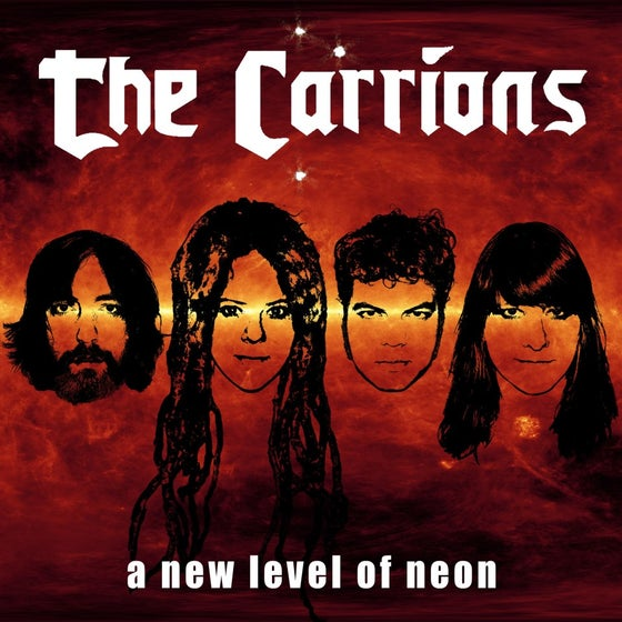 "Image of The Carrions - ""A New Level of Neon"" digital release"