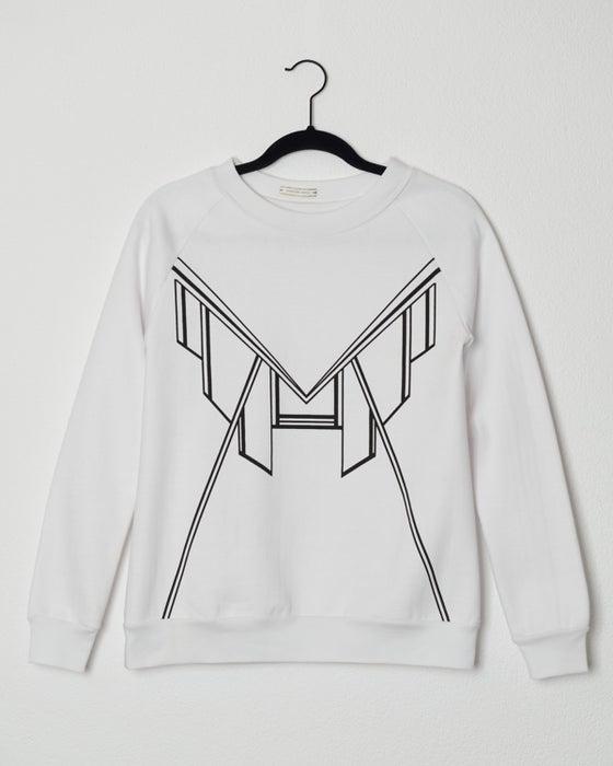 Image of sweater imprimé art déco