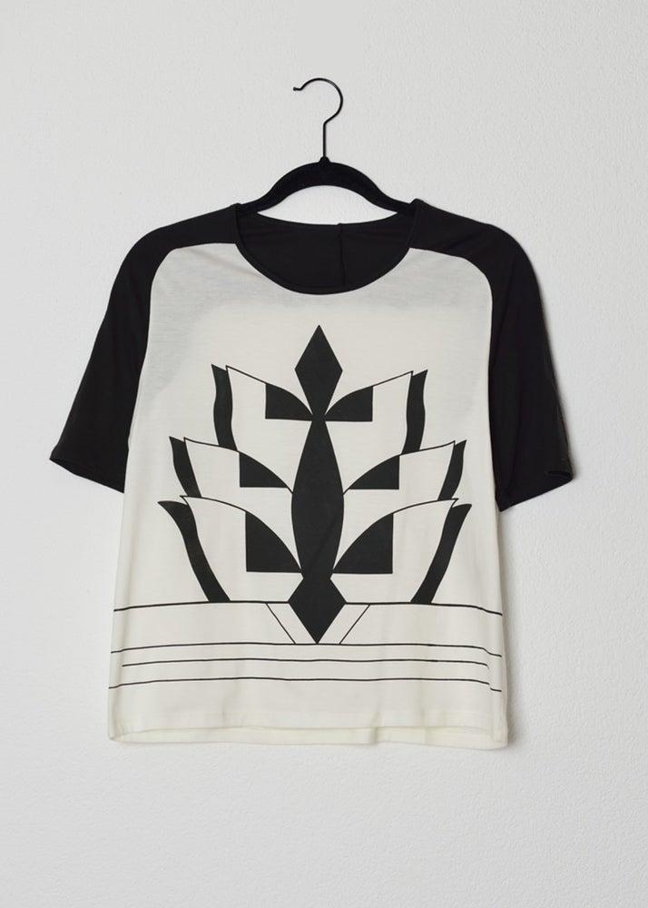 Image of t-shirt imprimé gravure