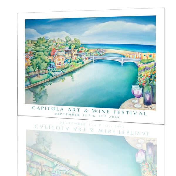 Image of 2015 Capitola Art and Wine Festival POSTER
