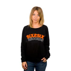Image of SIX2SIX Womens (ORANGE BLACK WHITE)