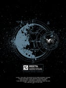 "Image of ROSETTA ""AUDIO/VISUAL"" POSTER PRINT"