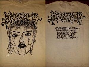 "Image of Murder Basket ""Official"" T-shirt (White)"