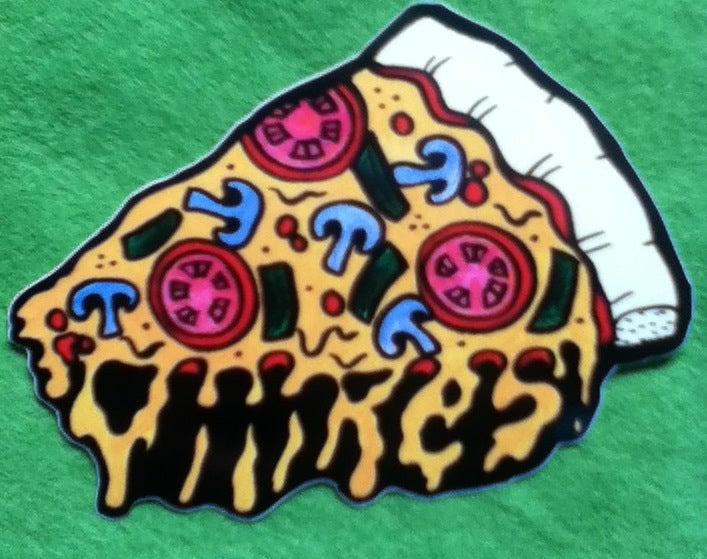 Image of Yiiikes! Pizza sticker