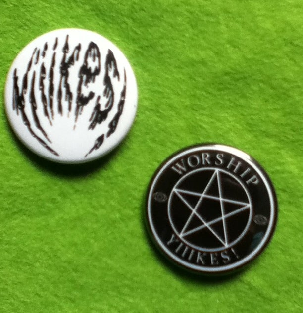 Image of Logo/Worship Yiiikes! badge